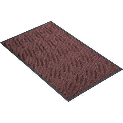"NoTrax® Opus™ Entrance Mat 3/8"" Thick 3' x 4' Burgundy"