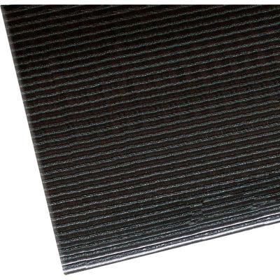 """NoTrax® Razorback Anti-Fatigue Mat 1/2"""" Thick 2' x 60' Black"""