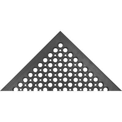 "NoTrax® Beveled Drain-Step™ Anti Fatigue Mat 1/2"" Thick 3' x 5' Black"