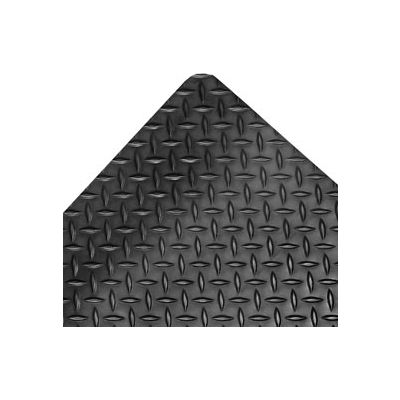 """NoTrax® Saddle Trax® Anti Fatigue Mat 1"""" Thick 4' x Up to 75' Black"""