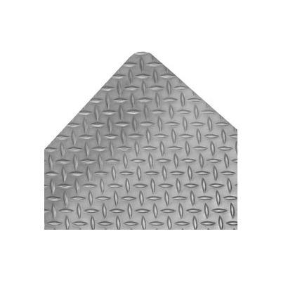 "NoTrax® Saddle Trax® Anti Fatigue Mat 1"" Thick 3' x 12' Gray"