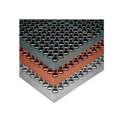 """NoTrax® Sanitop™ Drainage Mat 1/2"""" Thick 3' x 15' Red"""