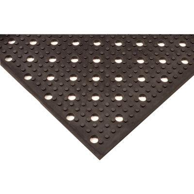 """NoTrax® T23 Multi-Mat II™ Drainage Mat 3/8"""" Thick 3' x 2' Black"""