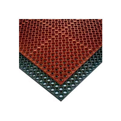 "NoTrax® T25 Challenger™ Anti Fatigue Drainage Mat 3/4"" Thick 3' x 5' Black"
