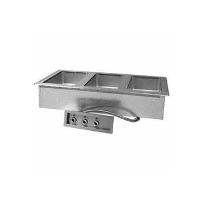 """Hot Food Well Unit, Drop-In, Electric, (2) 12"""" x 20"""" 120V"""