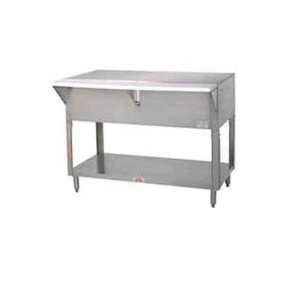 "Solid Top Table, 47.125""L Sliding Doors"
