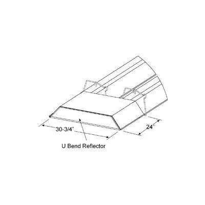 SunStar U-Bend Reflector Kit - For U-Shaped Infrared Tube Heaters 43488000