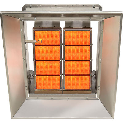 SunStar Natural Gas Heater Infrared Ceramic SG8-N, 80000 BTU