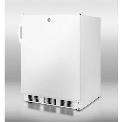 Summit CT66JADA ADA Comp Freestanding Refrigerator-Freezer 5.1 Cu. Ft. White