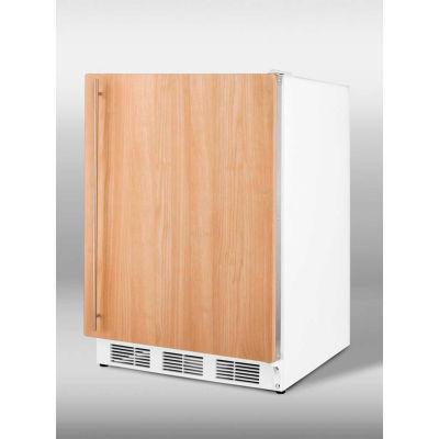 Summit CT66JBIIFADA ADA Comp Built In Refrigerator-Freezer 5.1 Cu. Ft. White