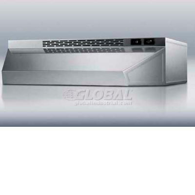 "Summit-24""W Convertible Range Hood, Ducted Or Ductless Use, S/S Finish"