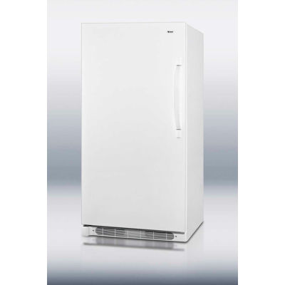 Summit R17FFLHD Large Capacity Fan Forced Cooling All Refrigerator 16.5 Cu. Ft. White