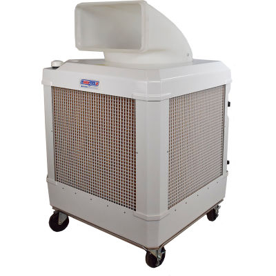 Schaefer Defender™ Series Evaporative Cooler + Air Purifier w/ NPBI technology - White