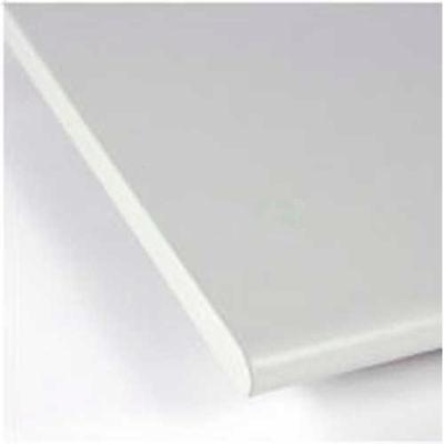 "96""W x 24""D x 1-1/5"" Thick Treston ESD Laminate Postformed Work Surface, 180° Comfort Edge"