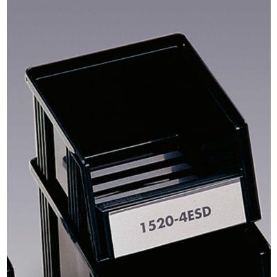 """Treston ESD Stack Bin 1520-4ESD - 5-7/8""""W x 7-9/16""""D x 4-1/8""""H - Pkg Qty 45"""