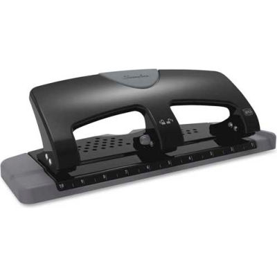 """Swingline® 3-Hole Punch 9/32"""" Punch Size with 20 Sheet Capacity"""