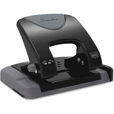 "Swingline® 2-Hole Punch 9/32"" Punch Size with 12 Sheet Capacity"