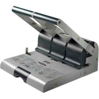 Swingline® High Capacity Adjustable Punch, 2 - 3 Holes, 160 Sheet Capacity, Gray