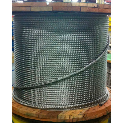 """Southern Wire® 500' 1/8"""" Diameter 7x7 Type 304 Stainless Steel Cable"""