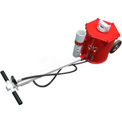 "Sunex Tools 6710 10 Ton Portable Air Lift Jack, 8"" Wheels, T-Handle"