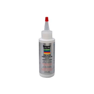Super Lube® Oil W/O PTFE Low Viscosity, Lt. Wgt., 4 oz. Bottle - 52004 - Pkg Qty 6