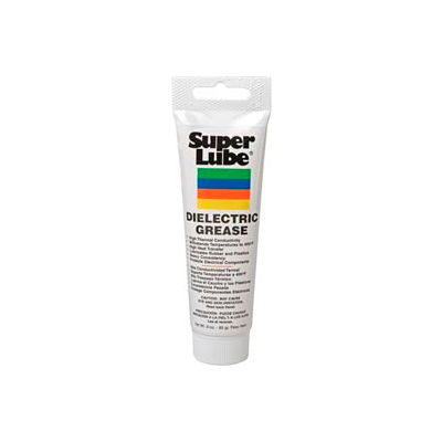 Super Lube Silicone High-Dielectric & Vacuum Grease, 3 oz. Tube - 91003 - Pkg Qty 12