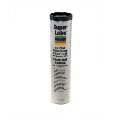 Super Lube Silicone Lubricating Grease W/ PTFE, 14.1 oz. Cartridge - 92150 - Pkg Qty 12