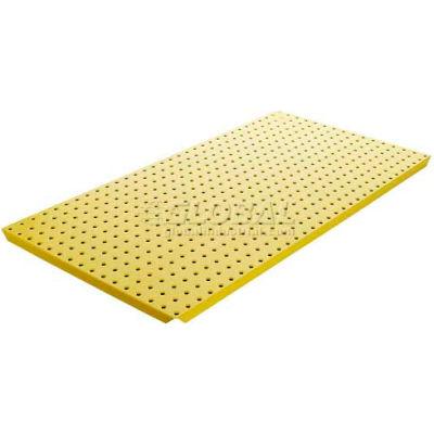 Pegboard Panels - Powdercoat Yellow 16 x 32 (2 pc)