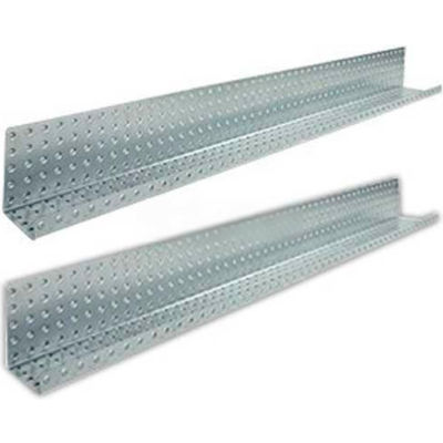 Metal Shelves - Galvanized 3 x 48 (2 pc)