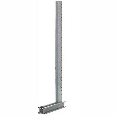 """Cantilever Rack Single Sided Upright (3000 Series) 31""""W x 10'H - U1031-NS"""