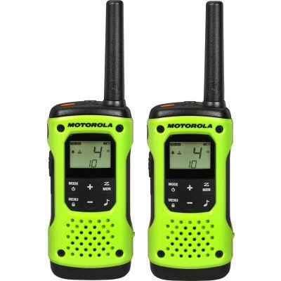 Motorola Talkabout® T600 Waterproof Rechargeable Two-Way Radios, Green- 2 Pack