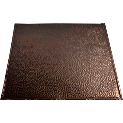 Great Lakes Tin Chicago 2' X 2' Lay-in Tin Ceiling Tile in Bronze Burst - Y60-06
