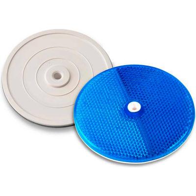 "102225 3-1/4"" Blue Centermount Reflector, Plastic Backplate, RT-90B"