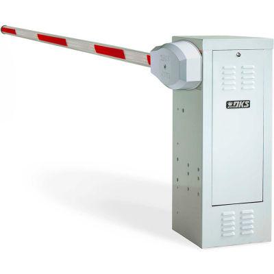 DOORKING® 1601-080 Traffic Barrier Gate Operator, 115 V, 1/2 HP, 14'L Arm w/Detector Package