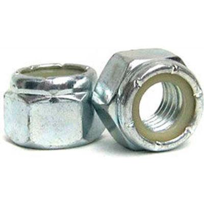 M10 x 1.5 - Nylon Insert Lock Nut - 304 Stainless Steel - DIN 985 - Pkg of 100