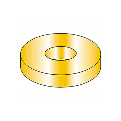 Flat Washer - M14 - Hardened Steel - Zinc Yellow - Class 10.9 - DIN 125A - Pkg of 50