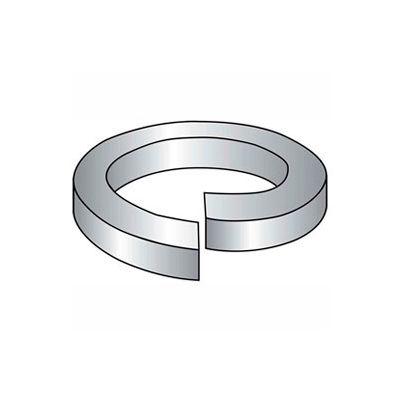 "#6 Split Lock Washer - .148/.141"" I.D. - .031"" Thick - Steel - Zinc - Grade 2 - Pkg of 100"