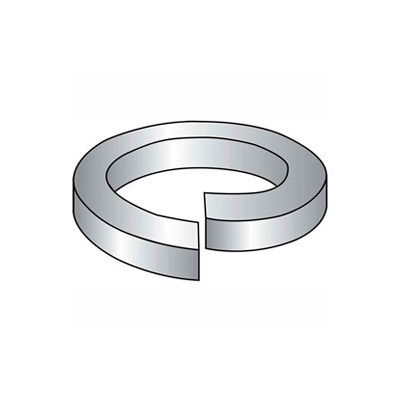 """9/16"""" Split Lock Washer - .574/.564"""" I.D. - .141"""" Thick - Steel - Plain - Grade 2 - Pkg of 200"""