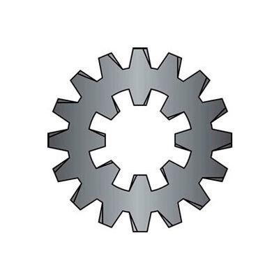 #10 Combination Internal/External Tooth Lock Washer - Steel - Zinc - Pkg of 100