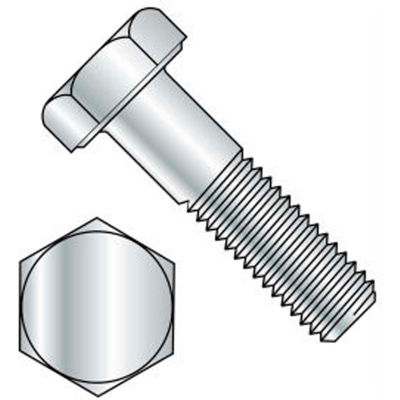 M10 x 1.5 x 100mm - Hex Head Cap Screw - 304 Stainless Steel - DIN 931/933 - Pkg of 25