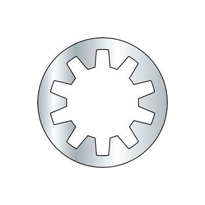 8mm - Internal Tooth Lock Washer - Steel - Zinc - DIN 6797J - Pkg of 100