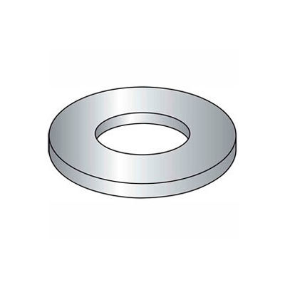 "Machinery Bushing - 1-1/4"" O.D. - .3/4"" I.D. - 126/.142"" Thick - Steel - Plain - Grade 2 - 50 Pk"