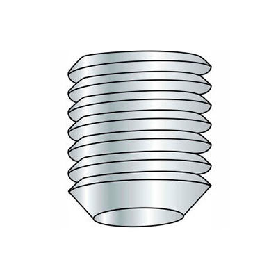 M3 x 0.5 x 5mm Cup Point Socket Set Screw - Steel - Black Oxide - DIN 125B - 45H - Pkg of 100