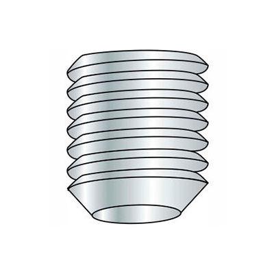 M8 x 1.25 x 6mm Cup Point Socket Set Screw - Steel - Black Oxide - DIN 125B - 45H - Pkg of 100