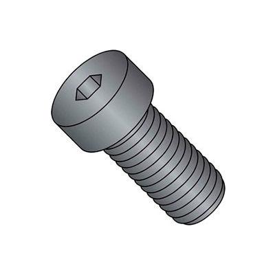 M8 x 1.25 x 35mm Low Socket Cap Screw - Steel - Black Oxide - DIN 125B - Class 8.8 - Pkg of 25