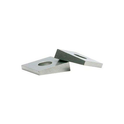 "3/8"" Malleable Bevel Washer - 7/16"" I.D. - .313"" Thick - Steel - Galvanized - Grade 2 - Pkg of 25"