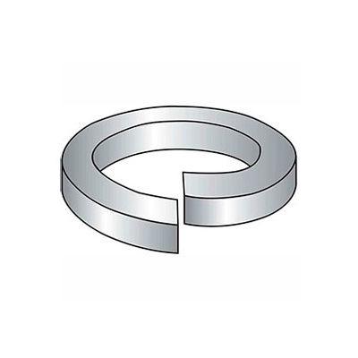 "#5 Hi-Collar Split Lock Washer - .133/.127"" I.D. - .03"" Thick - Steel - Zinc - Grade 2 - Pkg of 100"