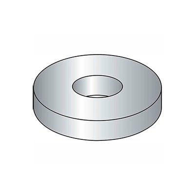 "7/16"" Flat Washer - USS - 1/2"" I.D. - .064/.104"" Thick - Steel - Plain - Grade 2 - Pkg of 100"