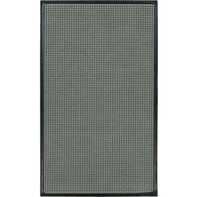 """WaterHog® Classic Entrance Mat Waffle Pattern 3/8"""" Thick 6 x 16' Gray"""