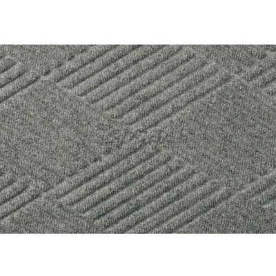 """WaterHog® Classic Diamond Mat 3/8"""" Thick 4' x 16' Medium Gray"""